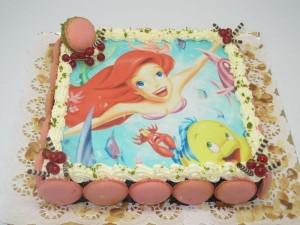 La photo imprimée sur gâteau... pour le bonheur des enfants