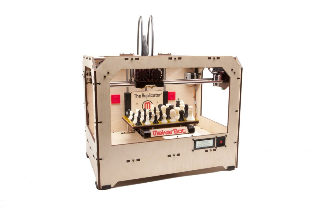 Le Replicator de Maker Bot : la plus célèbre des imprimantes 3D