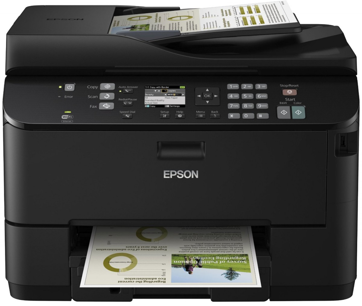epson workforce 4535