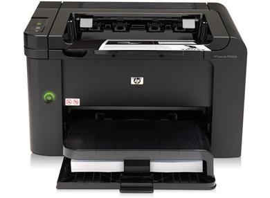 HP LaserJet p1606 : un design anguleux, un minimu de touches