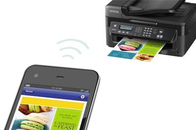 La connection Wi-fi se fait grâce à l'appli Epson iPrint